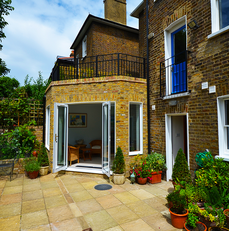 W12 rear infill extension, Hammersmith W12